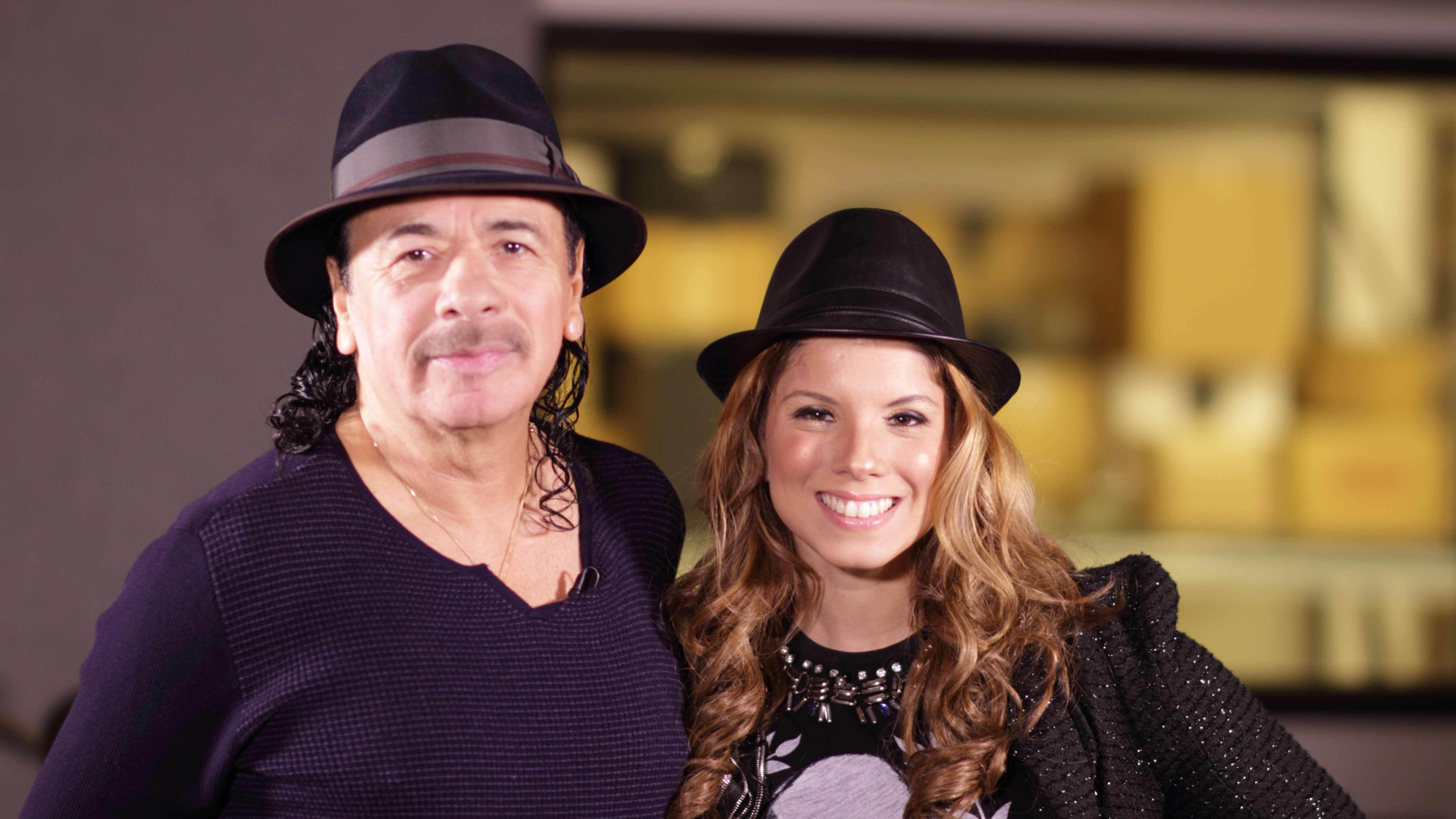 Carlos Santana Gaby Natale SuperLatina